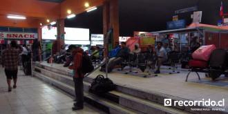 recorridocl - terminal arica - rodoviario