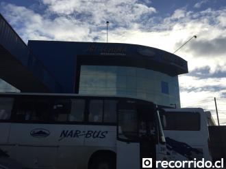 Terminal de Buses Igillaima Narbus Temuco