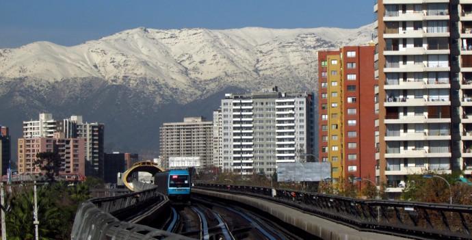 Metro de Santiago, Chile