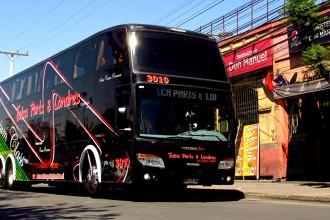 Buses Talca Paris y Londres