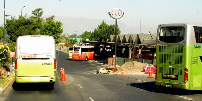 Terminal Pajaritos Santiago de Chile