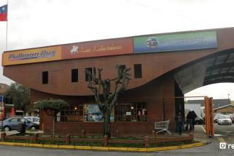 pullman bus - terminal - villarrica