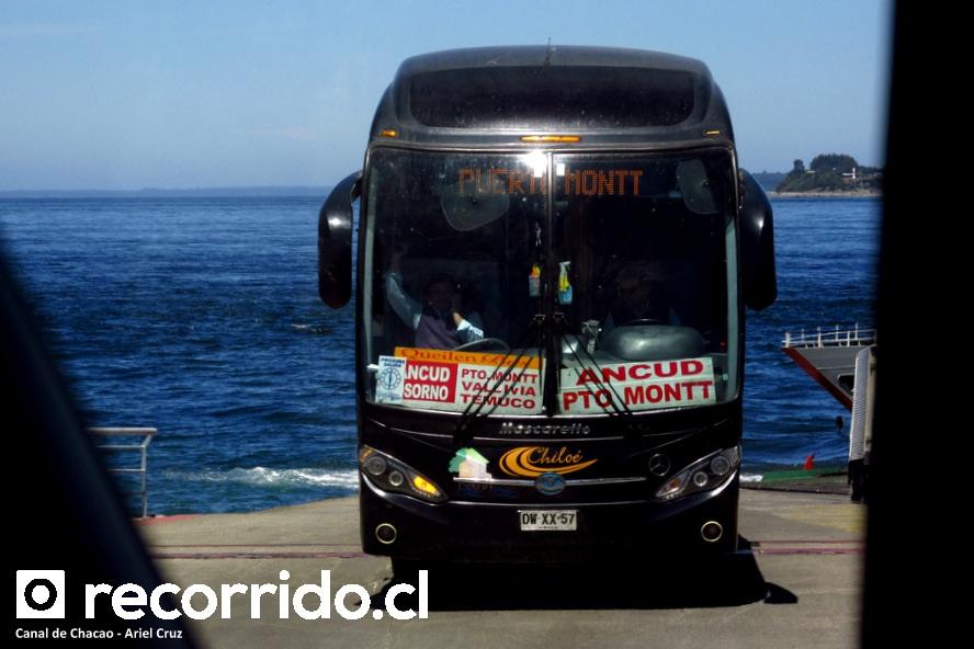 dwxx57 - queilen bus - pargua - roma 370