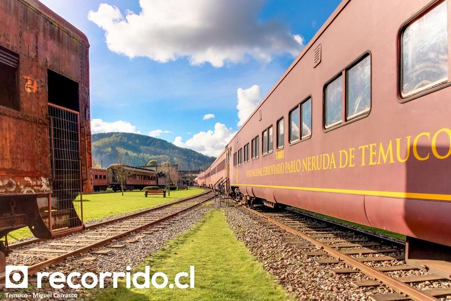 Museo Nacional Ferroviario Pablo Neruda de Temuco