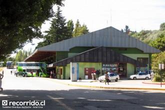 terminal ómnibus bariloche - vía bariloche - cata internacional - marga - río negro - argentina - taxi