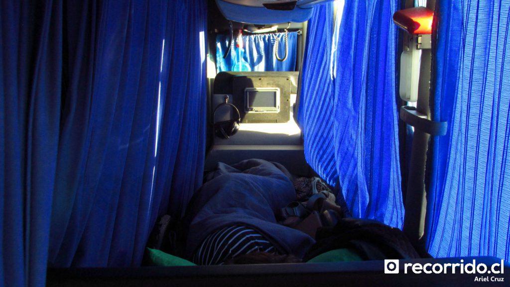 Asiento Cama Suite de Bus Norte