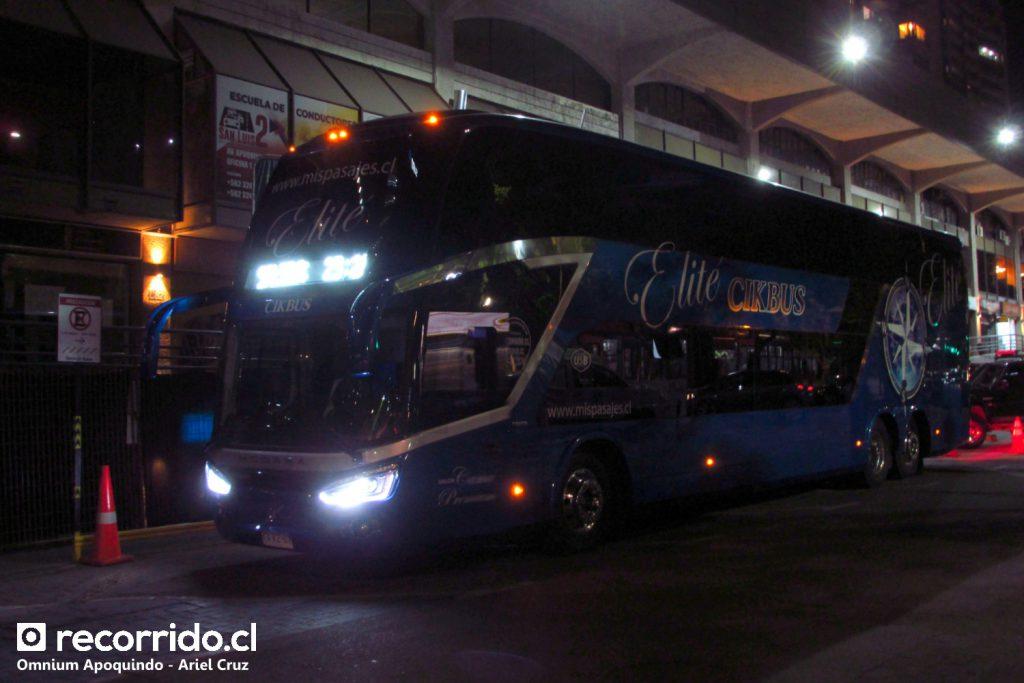 Cikbus Elité en Omnium Apoquindo | Modasa Zeus 4 - Volvo / KVKZ67